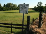 Wibaux Fish Pond Sign