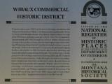 Wibaux Commerical Historic District
